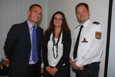 Berichteten von ihren Erfahrungen mit der 15-PS-Regelung: Dr. Steffen Häbich (von links), Eva Michalski und Jens Ole Vierkötter.