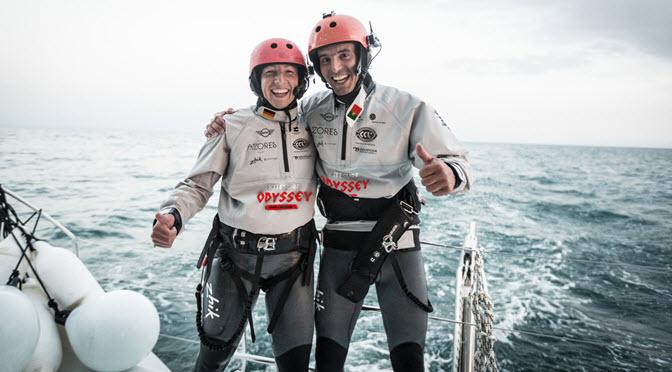 Anke Brandt und Francisco Lufinha