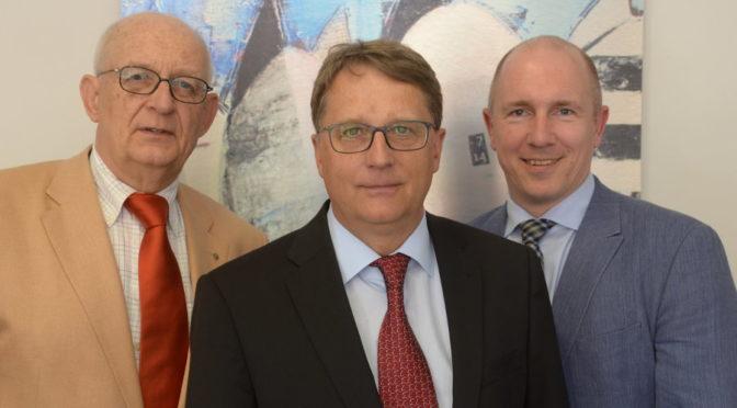 Starkes FSR-Trio: Jan-Ulrich Bernhardt (von links), Michael Dibowski und Holger Mügge.