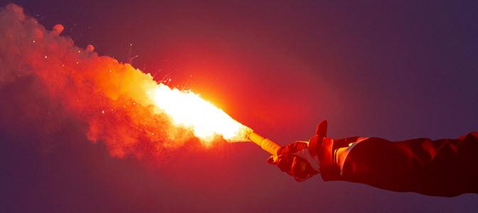 Pyrotechnische Signalmittel